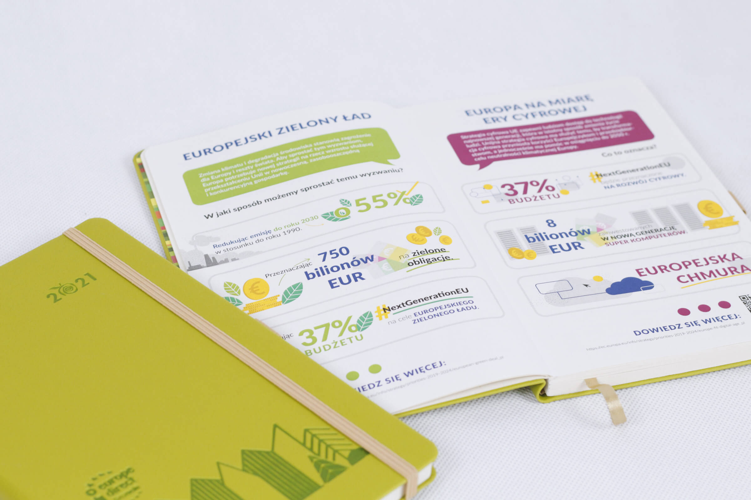 Kalendarz projekt Zielony Ład